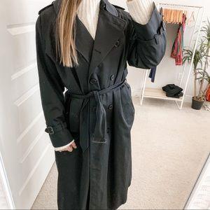 Burberry Chelsea Trench Coat Black